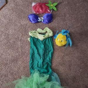 Handmade Little Mermaid Ariel Costume